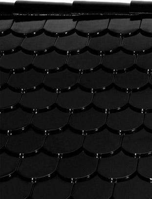 Бобровый хвост черная глазурь
